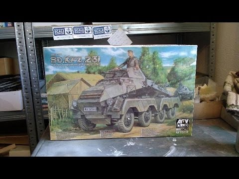 Kit review: AFV-Club Sd.Kfz.231 8 Rad in 1/35 scale