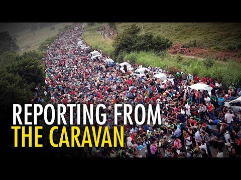 Media's caravan narrative vs. REALITY | David Menzies in Mexico