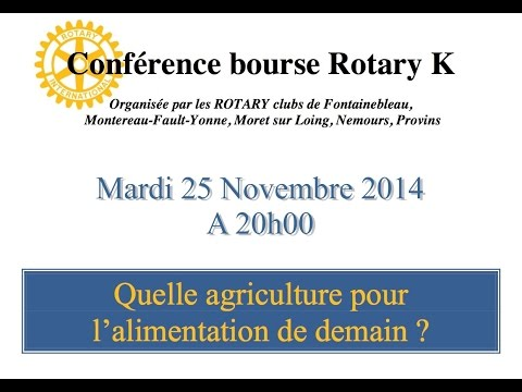 Bourse Rotary Sud Île-de-France 2014