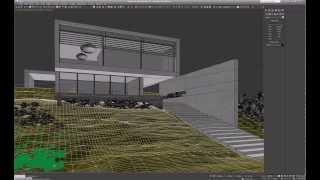 Видеоурок о созданию травы в 3ds max