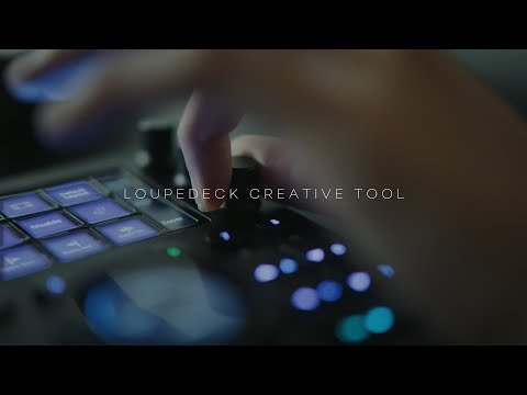 The newLoupedeck Creative Tool editing console packs improved software integrations