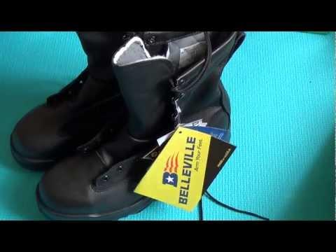 Небольшой обзор армейских ботинок Belleville ST 880 утепленные