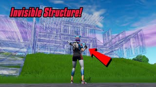 How to make INVISIBLE BUILDINGS in fortnite (Wallhack) Fortnite glitches season 7