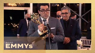 Emmys 2020: Schitt's Creek SWEEPS and Makes History!
