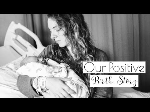MY POSITIVE BIRTH STORY | MEET MY BABY | INDUCED LABOR