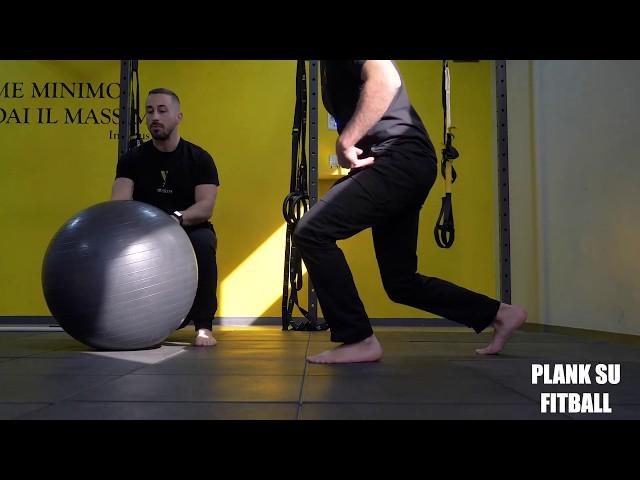 Plank su fitBall. Esecuzione e tecnica