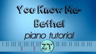 You Know Me Steffany Frizzell Piano Tutorial