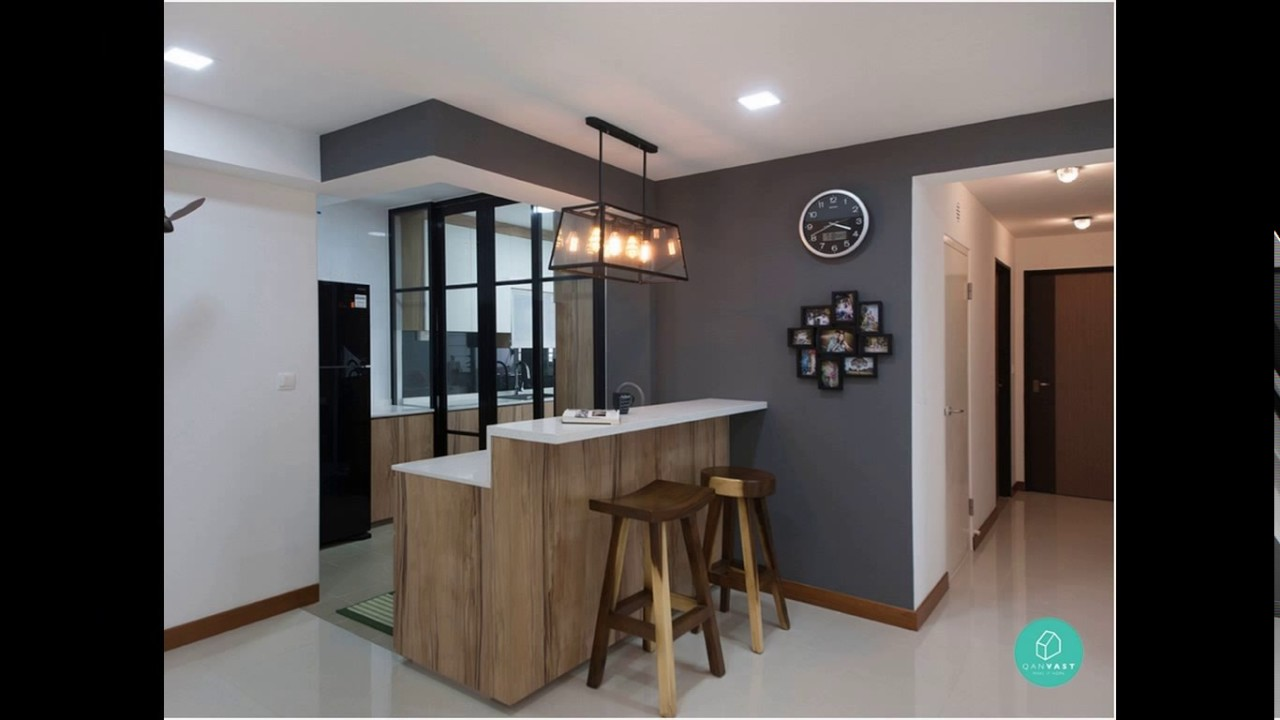 Kitchen Design For 4 Room Hdb Flat Youtube