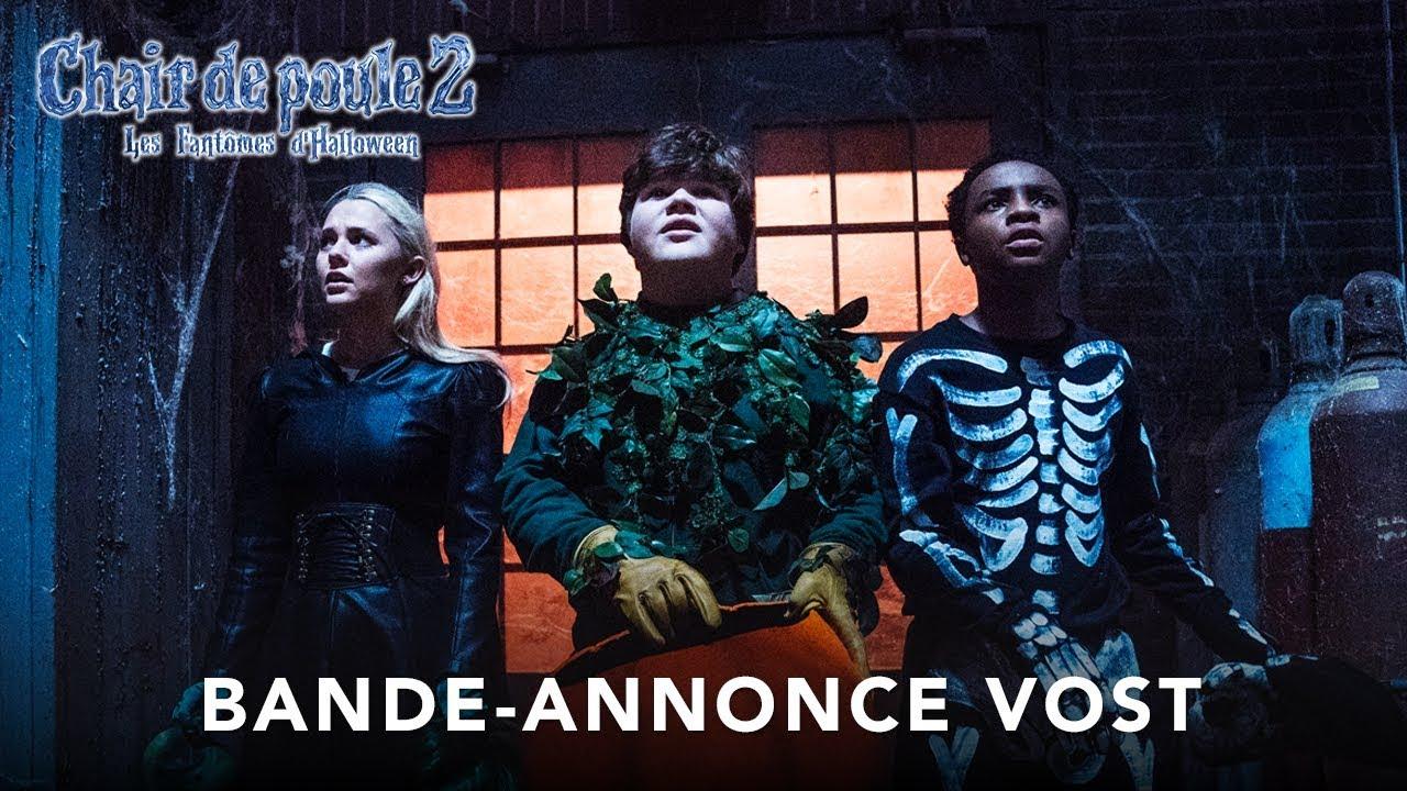 Chair De Poule 2 : Les Fantômes d'Halloween - Bande-annonce - VOST