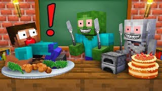 Monster School : BREWING COOKING CHALLENGE - Minecraft Animation