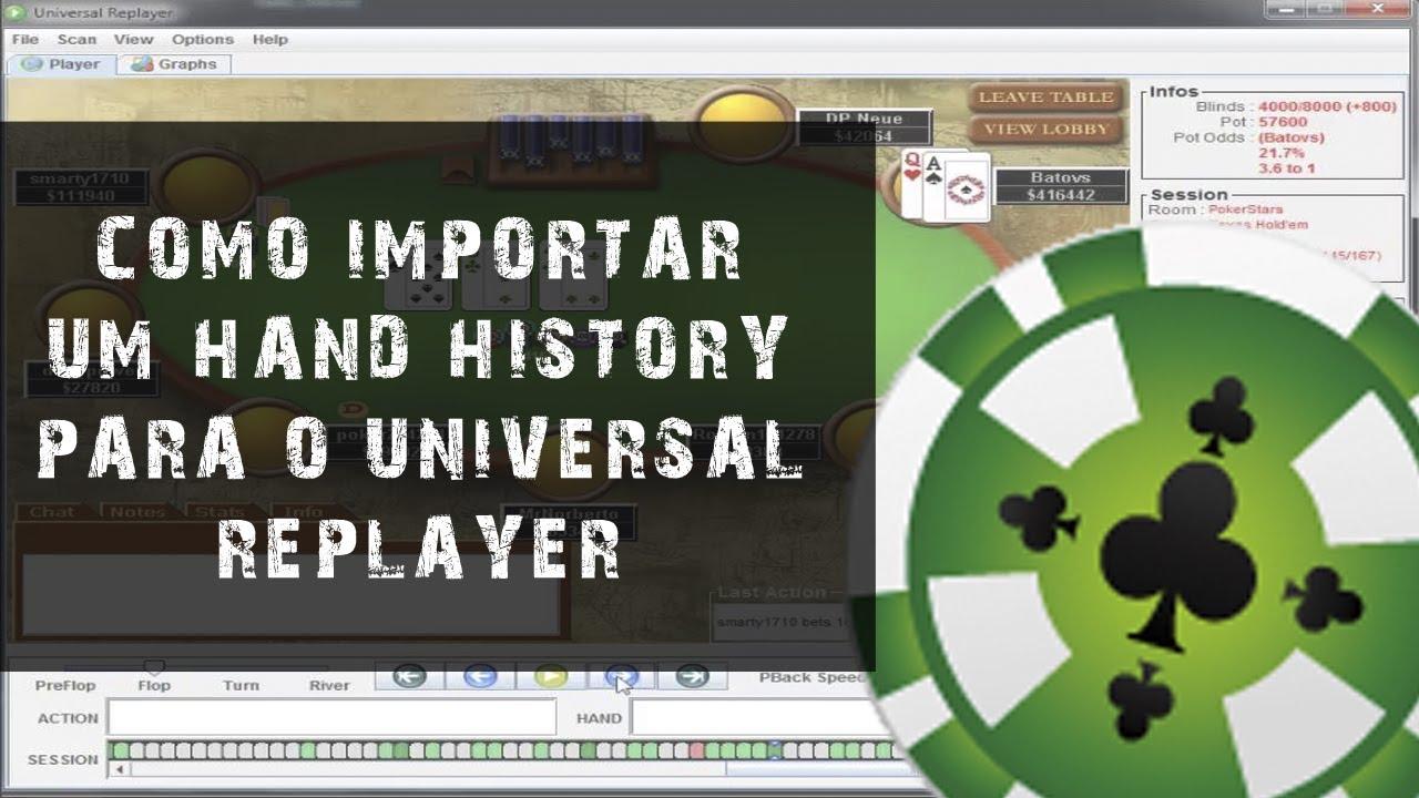 universal replayer poker
