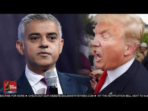 "Londonstan Mayor attacks Trump says"" Trump will not get Red Carpet Treatment"""
