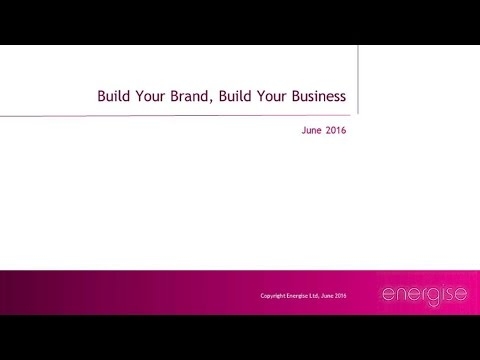 Build Your Brand, Grow Your Customers Seminar