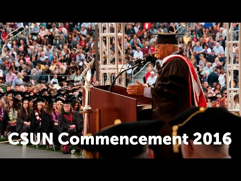 CSUN Commencement 2016: Health & Human Development  II and Humanities