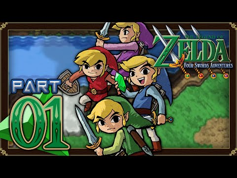 The Legend of Zelda: Four Swords Adventures - Part 1 - Lake Hylia