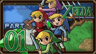 The Legend of Zelda: Four Swords Adventures - Part 1 - Lake Hylia