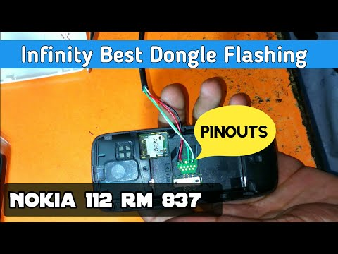 How to flash Nokia 112 RM-837 with pinouts by Infinity Best Dongle | ZM Lab