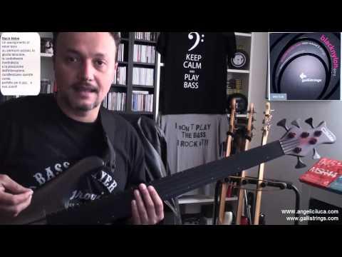 Lezioni di Basso Elettrico - Recensione Corde Galli Black Nylon G77 5