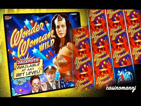 Wonder Woman Wild Slot Machine