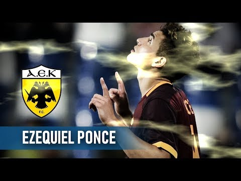 Ezequiel Ponce ● Welcome to AEK FC / Goals & Skills (HD)