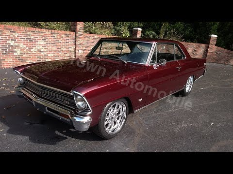 1967 Chevrolet Nova for sale Old Town Automobile in Maryland