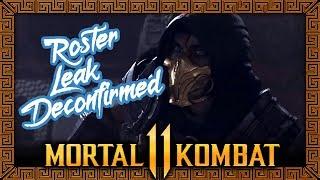 "MORTAL KOMBAT 11: ROSTER ""LEAK"" FAKE"