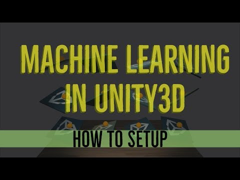 Unity3D Machine Learning Setup for ML-Agents on Windows 10 with Tensorflow