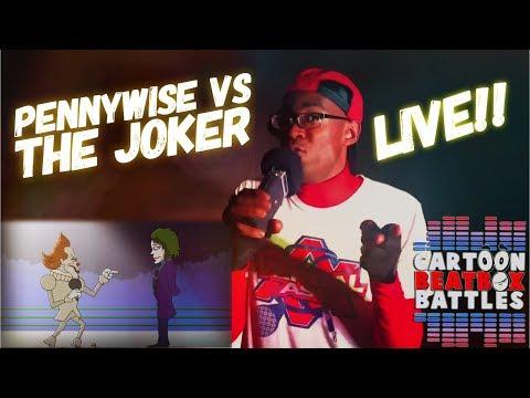 Pennywise VS The Joker - Cartoon Beatbox Battles Live