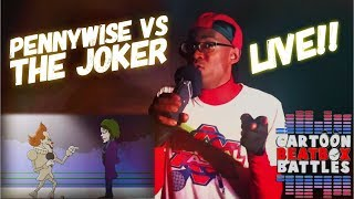 Pennywise VS. Der Joker - Comic-Beatbox-Battles Live