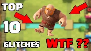 Top 10 Glitches in Clash Royale | Updated 2017