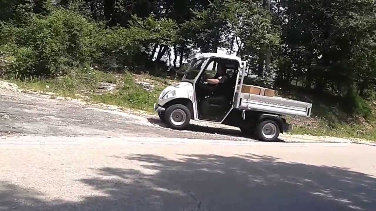Uphill roads: electric pickup no limits