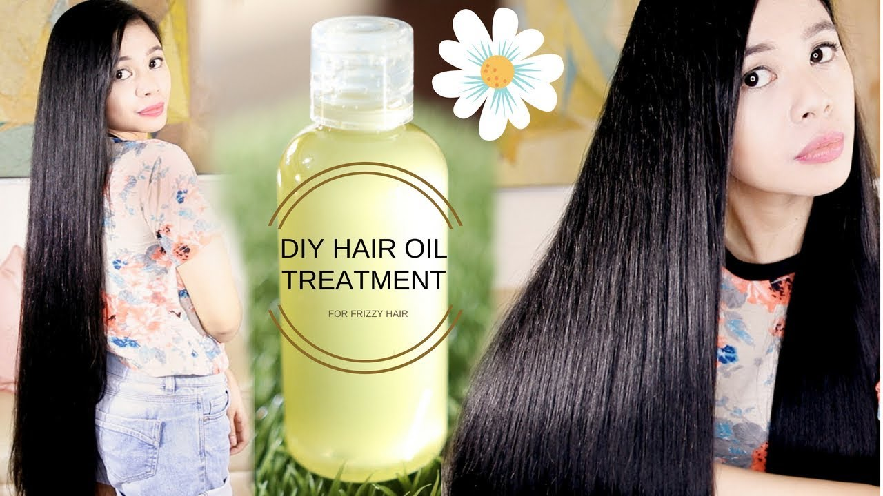 Diy Hair Oil Treatment For Frizzy Dry Hair Prevent Breakage Split Ends Beautyklove