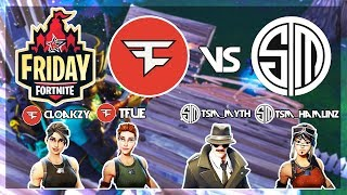FaZe Tfue, FaZe Cloakzy Vs TSM_Myth, TSM_Hamlinz 🥊Fortnite Friday🥊 Finals Week 9 (Fortnite)