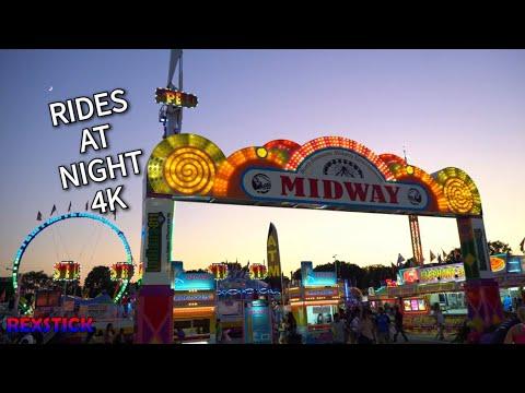 Indiana State Fair Rides 2019