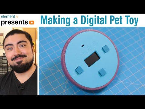 DIY #Tamagotchi - Build a Virtual Pet