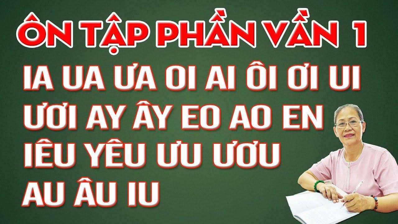 Dạy Bé Học Bảng Chữ Cái Tiếng Việt Mới Nhất - Dạy bé học đánh vần ghép phần 1