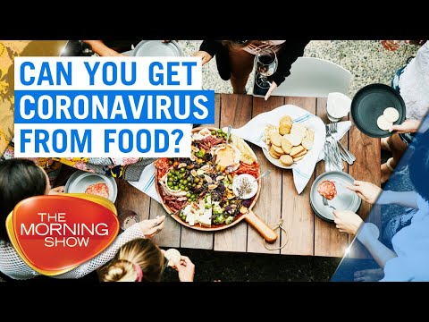 Can you get coronavirus from food? | 7NEWS