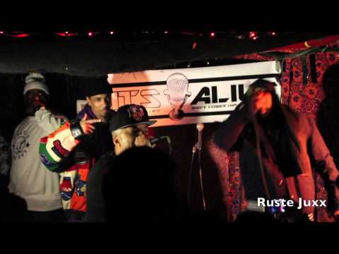 Ruste Juxx Performs Live at The It's Alive Showcase