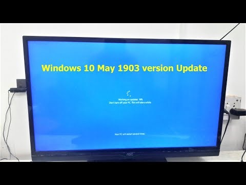 How To Upgrade Windows 10 May 1903 Update Without Loosing Data