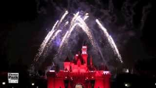 Disneyland July 4th 2013 Fireworks (HD) - Longer Version - Up Close & Center - Independence Day