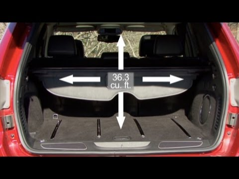 2011 Jeep Grand Cherokee - Cargo Capabilities