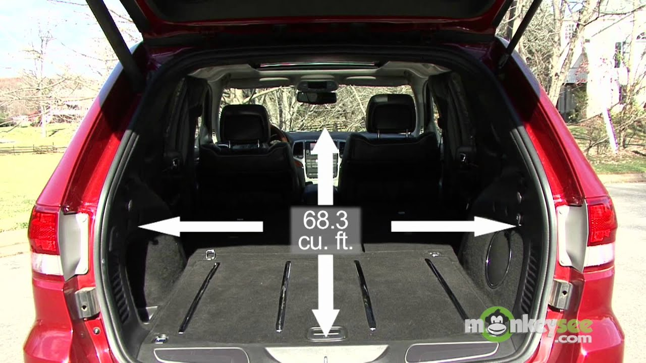 2011 Jeep Grand Cherokee - Cargo Capabilities - YouTube