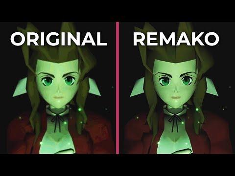 Final Fantasy 7 Remastered – Original PC vs  Remako Mod Graphics Comparison