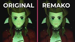 Final Fantasy 7 Remastered – Original PC vs. Remako Mod Graphics Comparison