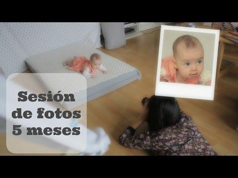 Vídeo Ensaio fotografico bebe 4 meses