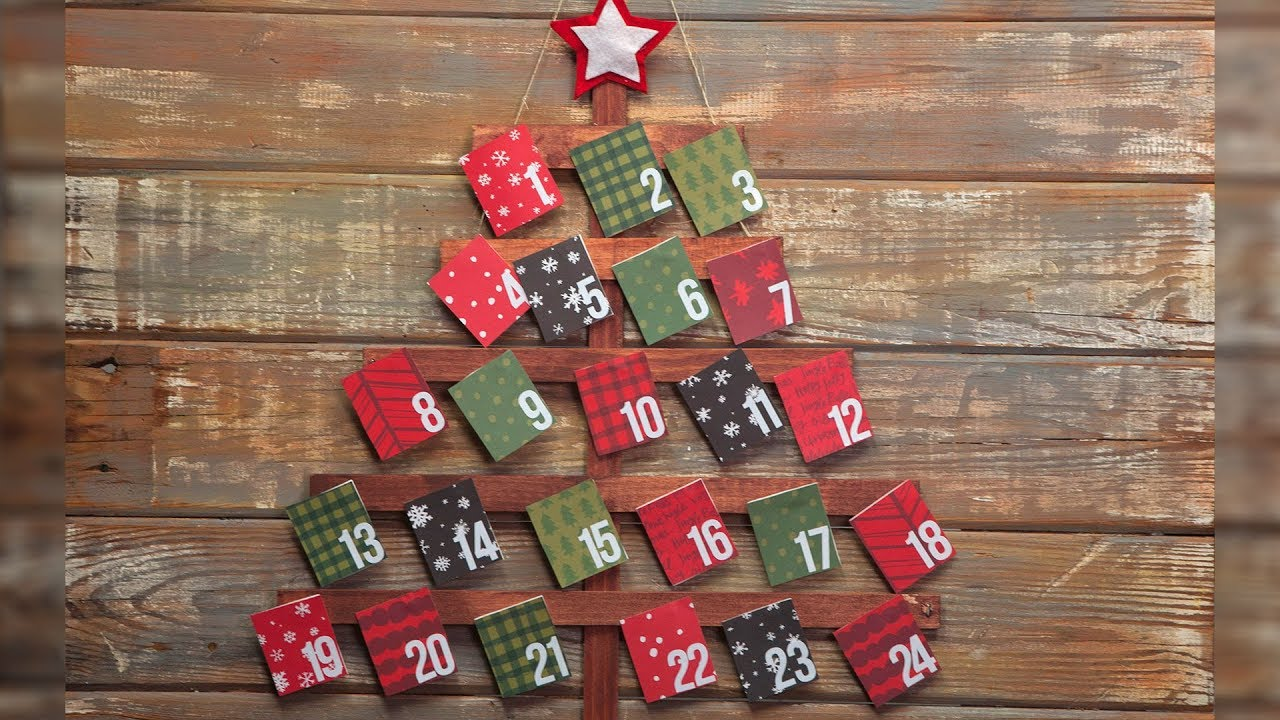 Make Your Own Christmas Advent Calendar Southern Living Youtube