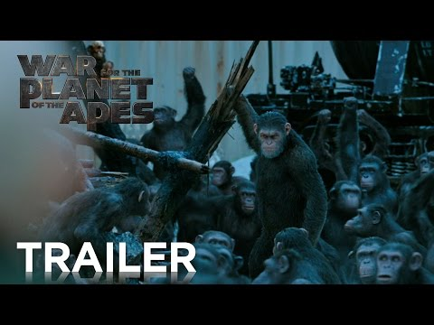 WAR OF THE PLANET OF THE APES előzetes: Epic majomparádé lesz itt!
