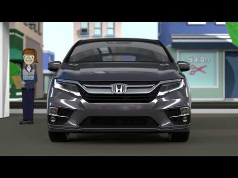 2018 Honda Odyssey Paper Town