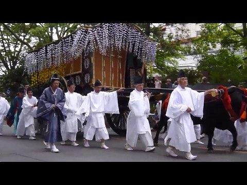 Aoi Festival in Kyoto Japan