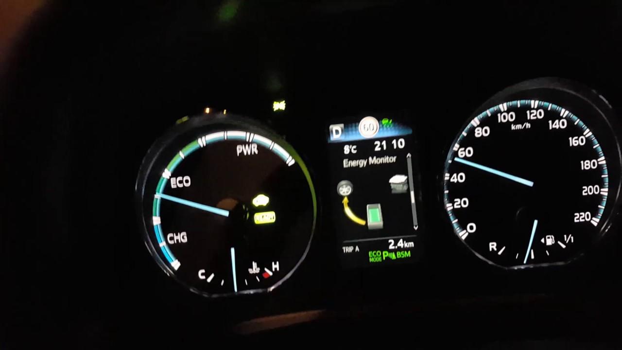 Toyota Rav4 Hybrid Range With Electro Motor Ev